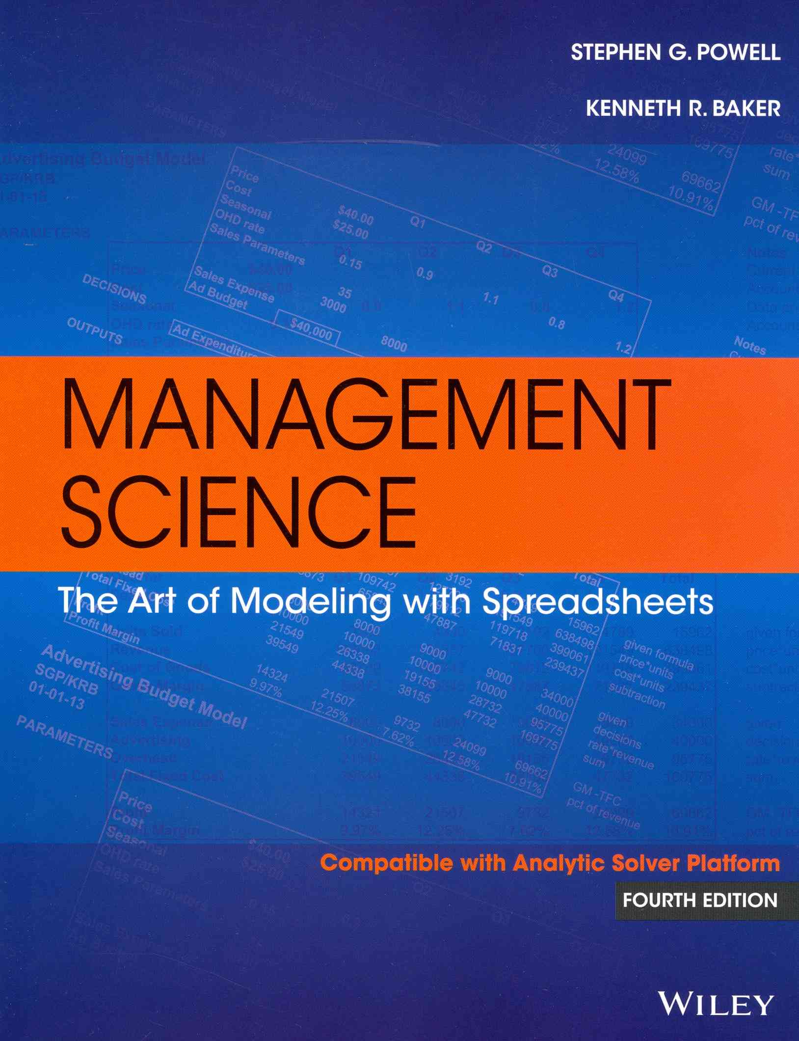 Management Science By Powell, Stephen G.